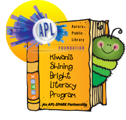 Sponsor a child in the Kiwanis Shining Bright Literacy Program!